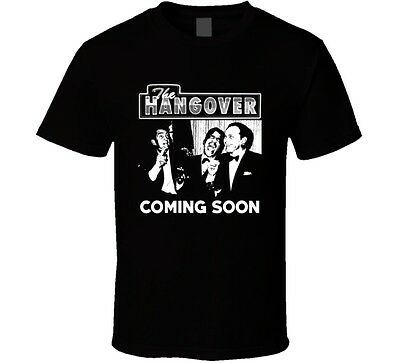 The Hangover Rat Pack Parody Movie Funny Fan T Shirt • 19.33£