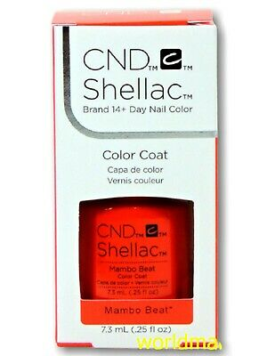 AU17.40 • Buy CND Shellac GelColor 0.25fl.oz UV/LED Polish #91583- Mambo Beat