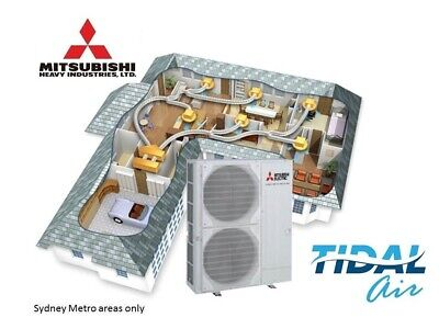 AU4800 • Buy Mitsubishi Heavy Industries Inverter Duct Air Conditioner 7.1kW Supply + Install