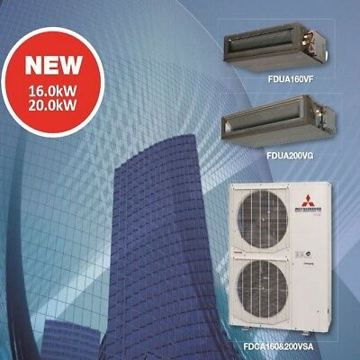 AU11999.99 • Buy Mitsubishi Heavy Industries Ducted Air Conditioner 20kW Supply&Install