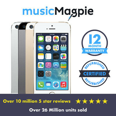 View Details Apple IPhone 5s - 16GB 32GB 64GB - Unlocked SIM Free Smartphone Various Colours • 64.99£