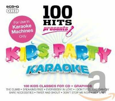 Various Artists - 100 Hits Presents - Kids Party Ka... - Various Artists CD 2QVG • 3.96£