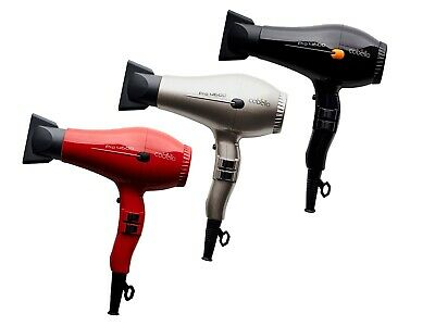 AU49.95 • Buy Cabello PRO 4600 - Professional Hair Dryer_2200W AC MOTOR -  Black / Grey / Red