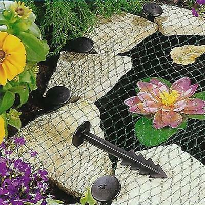 £7.29 • Buy Pond Cover Net - Garden Koi Fish Pond Pool Netting Heron Fox Protector With Pegs