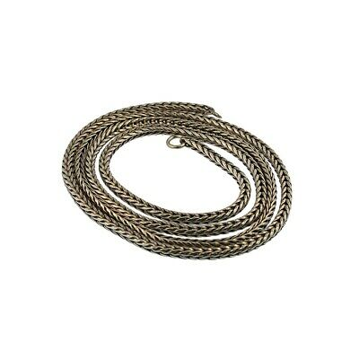 $51 • Buy Trollbeads Original Foxtail 13238 Necklace Silver 15 (14 Actual) Inch :1