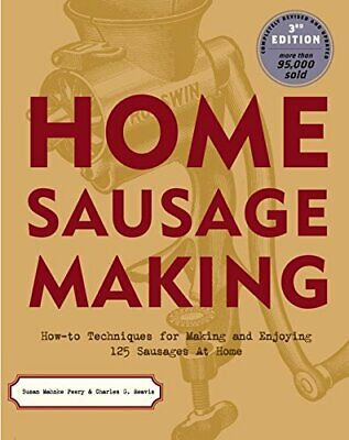 £5.99 • Buy Home Sausage Making By Reavis, Charles G. Paperback Book The Cheap Fast Free