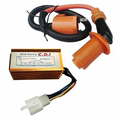 $15.99 • Buy Racing Ignition Coil CDI For 90 110 125 150cc 160cc Pit Dirt Bike SSR CRF50