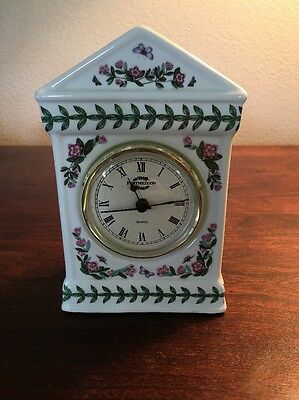Portmeirion Botanic Garden Desk Clock • 27.03£