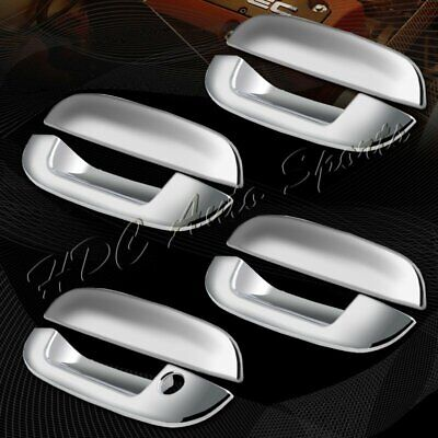 $19.88 • Buy For 2002-2007 Cadillac CTS/06-10 Cadillac DTS Mirror Chrome Door Handle Covers