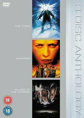 £4.49 • Buy The Thing/Vampires/Village Of The Damned [DVD] - DVD  FQVG The Cheap Fast Free