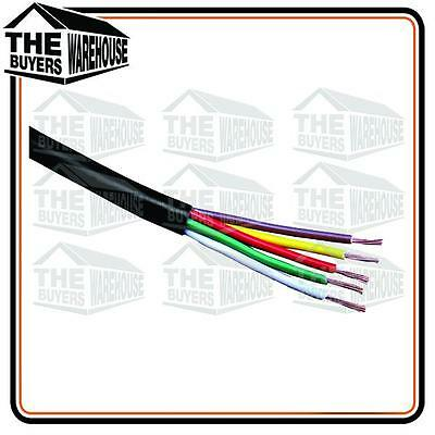 AU44.90 • Buy 4MM 7 CORE CABLE WIRE WIRING X 10 METRES TRAILER CARAVAN TRUCK SUIT LIGHTS 72603