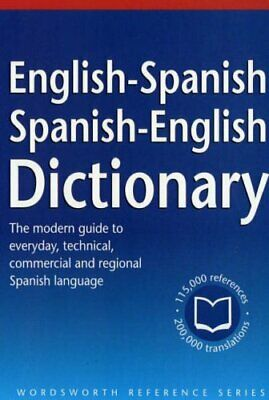 The Wordsworth English-Spanish/Spanish-English Dictionary (Wordswor... Paperback • 12.99£