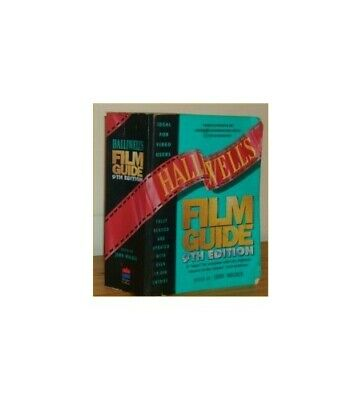 Halliwell's Film Guide Paperback Book The Cheap Fast Free Post • 6.49£
