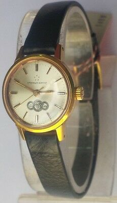 Vintage Eterna Matic Brevete Automatic 446 Women Watch Special Edition Arab Bank • 361.79£