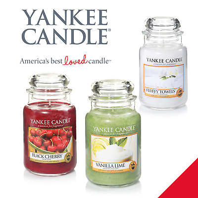 Yankee Candle 22oz Large Jar Variety Free P&P Gift - Christmas Gift Idea • 21.99£