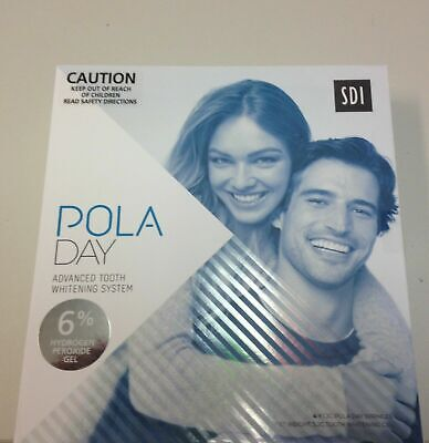 AU52.95 • Buy Pola  White Teeth Advanced Home System Gel 6% 4x1.3g Pack
