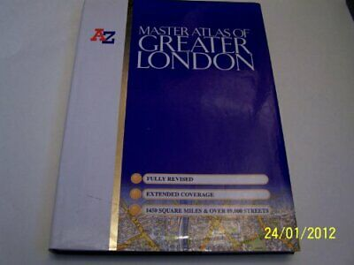 £35.99 • Buy Master Atlas Of Greater London (Street Maps... By Geographers' A-Z Map Paperback