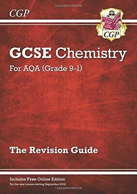 £2.69 • Buy Grade 9-1 GCSE Chemistry: AQA Revision Guide With Online Edition... By CGP Books