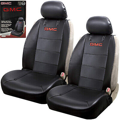 $52.23 • Buy New GMC Elite Synthetic Leather Car Truck Suv 2 Front Sideless Seat Covers Set