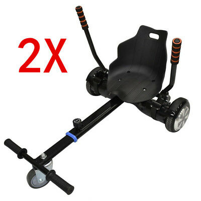 $ CDN250.44 • Buy 2x Attachment Kart Go Kart Seat Holder For 6.5  8  10  Two Wheel Balance Scooter