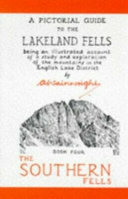 A Pictorial Guide To The Lakeland Fells Book F... By Wainwright, Alfred Hardback • 6.49£