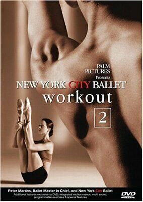 £3.49 • Buy New York City Ballet Workout 2 [DVD] - DVD  2MVG The Cheap Fast Free Post