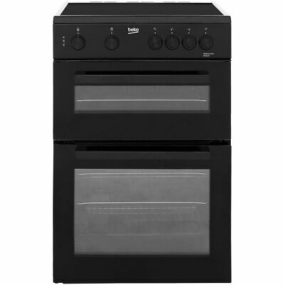 £349 • Buy Beko KTC611K Free Standing A Electric Cooker With Ceramic Hob 60cm Black New
