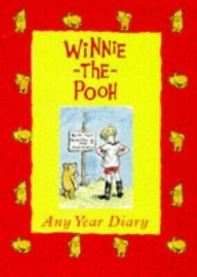 £3.99 • Buy Winnie The Pooh: Any Year Diary By A.A. Milne Diary Book The Cheap Fast Free
