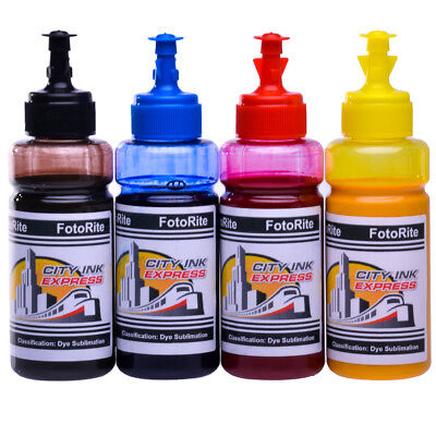 Sublimation Dye Ink For Ricoh Printers, GC21 GC31 GC41 SG GX Series All Models • 49.99£