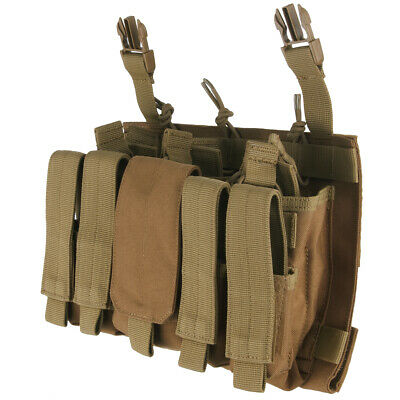 Condor VAS Recon Mag Pouch MOLLE Panel Webbing Platform Tactical Security Coyote • 37.95£