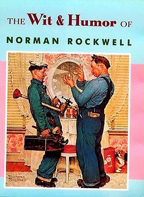 $ CDN5.83 • Buy The Wit & Humor Of Norman Rockwell (Main Street Ed
