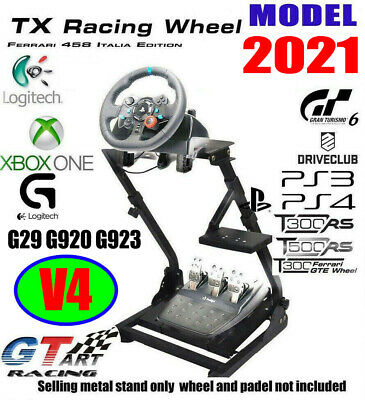 AU115.99 • Buy Genuine GT ART Racing Simulator Steering Wheel Stand For G29 PS4 G920 T300RS V4