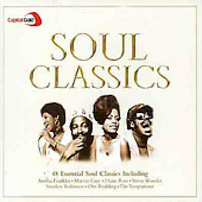 Capital Gold Soul Classics CD 2 Discs (2004) Incredible Value And Free Shipping! • 2.17£