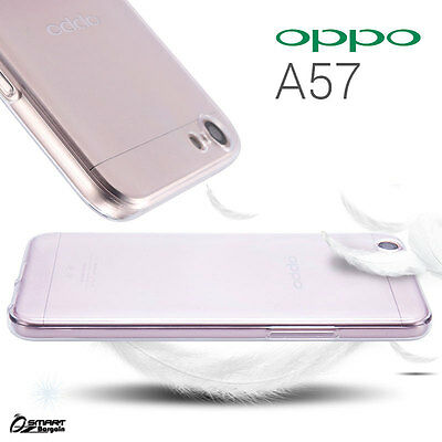 AU4.59 • Buy Clear Soft TPU Gel Jelly Slim Rubber Case Cover For  Oppo A57