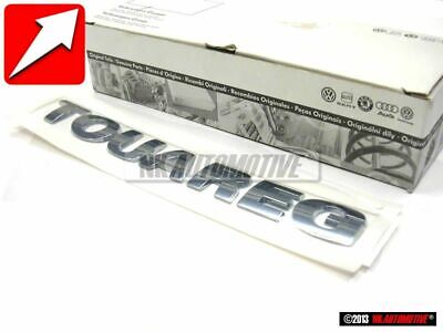 Genuine VW Touareg Rear Trunk Boot Badge Emblem - 7L6853687 739 • 77.16£
