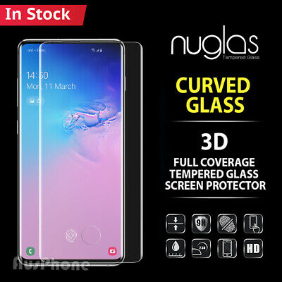 AU8.79 • Buy Galaxy S20 S10 S9 Plus Note 20 10 9 Tempered Glass Screen Protector For Samsung