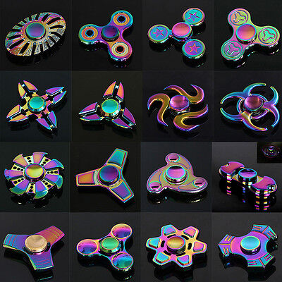 AU1 • Buy AU 3D Fidget Hand Finger Spinner EDC Focus Stress Reliever Toys For Kids Adults