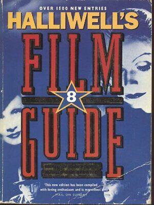 Halliwell's Film Guide Paperback Book The Cheap Fast Free Post • 5.49£
