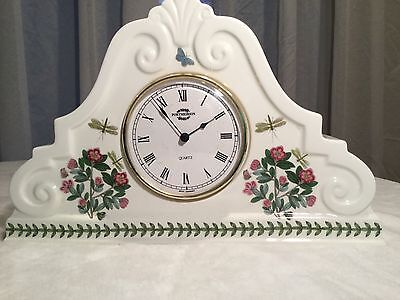 Portmeirion BOTANIC GARDEN: Large Mantel Clock Excellent • 69.50£
