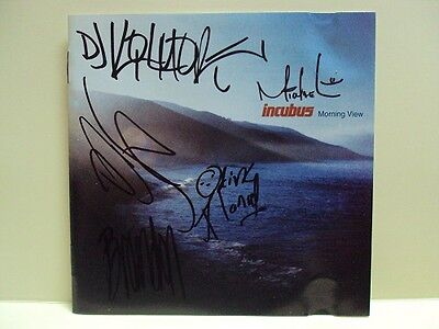 AU143.99 • Buy Incubus: Morning View – Cd, Hand Signed / Autographed / Autograph