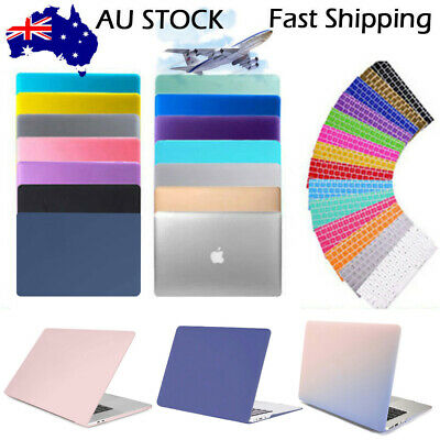 AU19.99 • Buy Rubberized Hard Case Shell+Keyboard Cover For Macbook Pro 13/15  Air 11/13  Inch