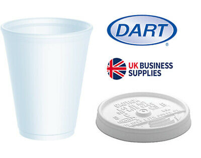 Polystyrene Insulated Disposable Cups & Lids • 11.98£