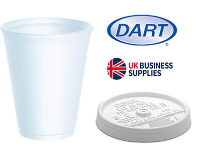Polystyrene Insulated Disposable Cups & Lids • 8.99£