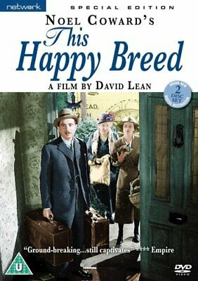 This Happy Breed [1944] [DVD] - DVD  RWVG The Cheap Fast Free Post • 9.26£