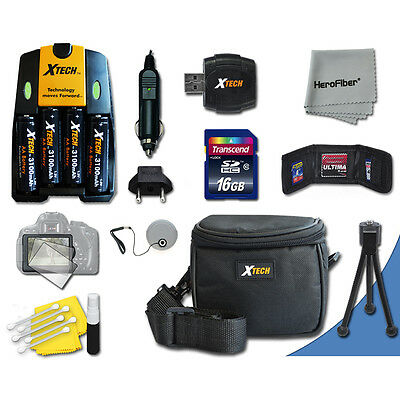 £35.60 • Buy Ideal Accessory Kit For Canon Powershot A810 A800 A720 IS A710 IS A700 SX3 IS