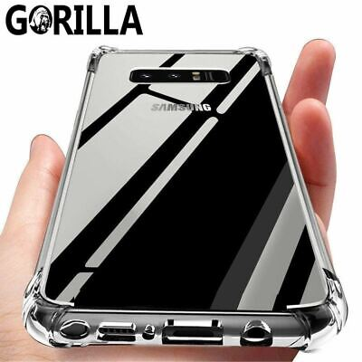AU5.49 • Buy Shockproof TOUGH Gel Clear Case Cover For Samsung Galaxy S20 S10 Note 10 9 S9 S8