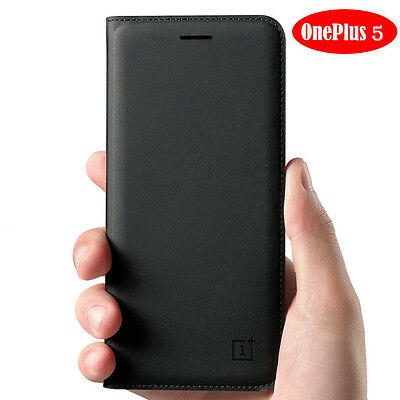AU16.48 • Buy Official Flip Leather Smart Wake/Sleep Wallet Case Cover For OnePlus 5 3T 3 7pro