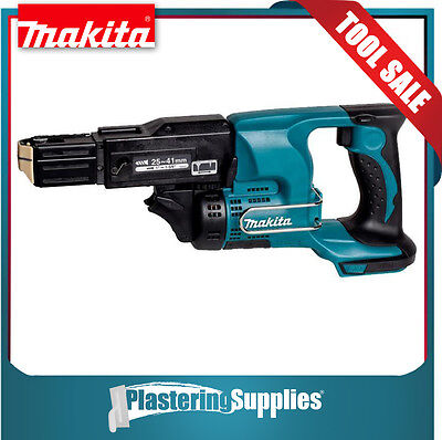AU379 • Buy Makita Screwgun Cordless Collated Screwdriver 18v Li-Ion DFR450 BARE TOOL
