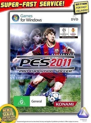AU19.99 • Buy Pro Evolution Soccer 2011 PC NEW, SEALED 100% AUSSIE GAME! Play WORLD CUP PES 11
