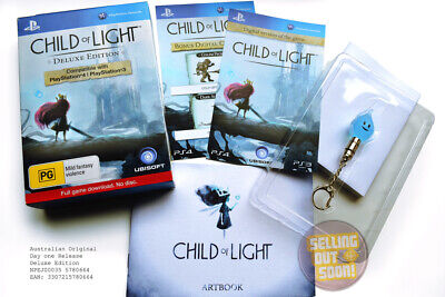 AU269 • Buy Child Of Light PS3+PS4 RPG Game ✓NEW ✓RARE ✓OZI ✓DELUXE Collectors Edition + DLC
